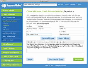 example resume resume builder mac os x With resume software for mac computers
