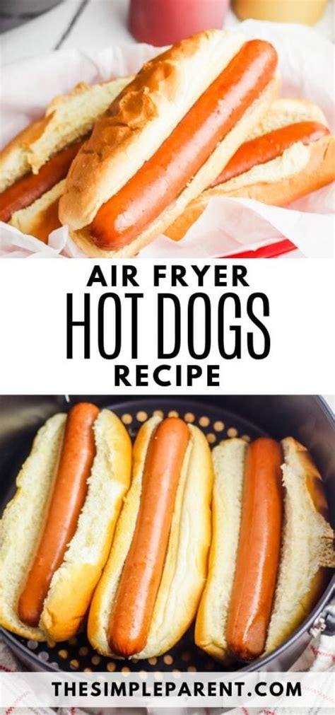air fryer dogs cook dog frozen