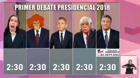 Memes Debate - los memes lo mejor del debate presidencial alerta chiapas