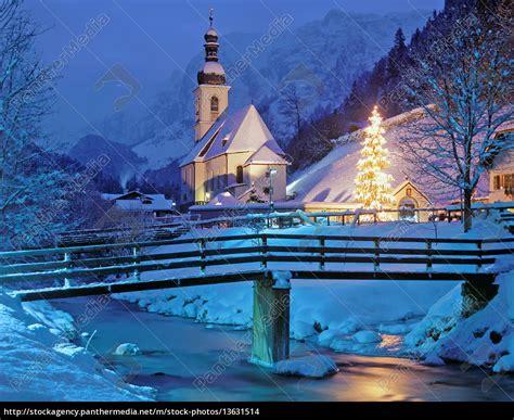 die weihnachtliche kapelle von ramsauberchtesgadener