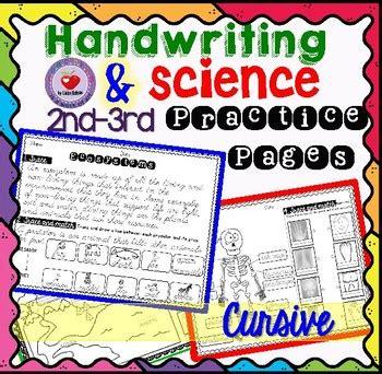 science  cursive