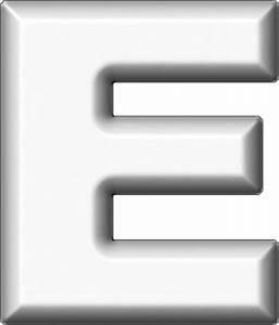presentation alphabets white refrigerator magnet e With white letter magnets