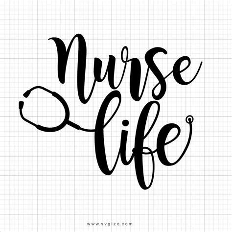 These svg images were created by modifying the images of pixabay. Nurse Life Svg Saying - SVGize