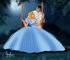 Ella and Kit - Cinderella (2015) Fan Art (38447676) - Fanpop  Cinderella