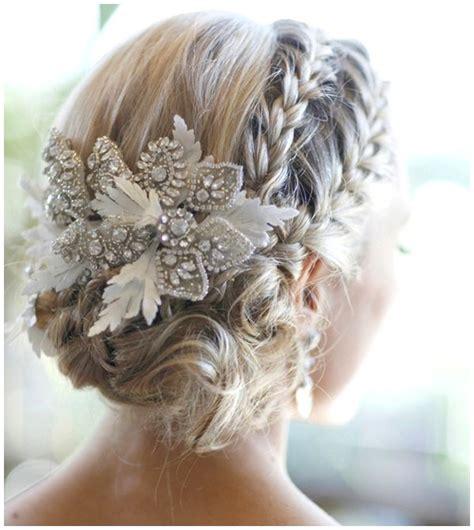 beautiful wedding hairstyles  accessories