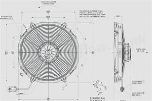 30102803a Spal 16 U0026quot   407mm  Cooling Fan Va33 Ll