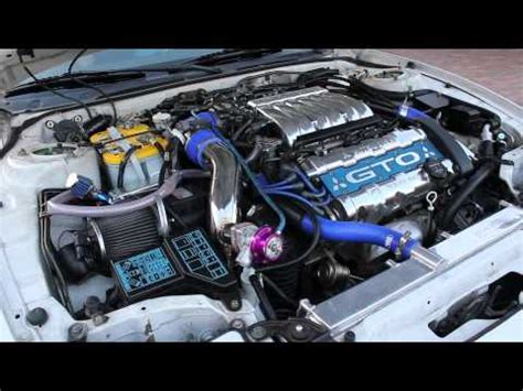 1997 Mitsubishi 3000GT VR4 - Engine Revving - YouTube