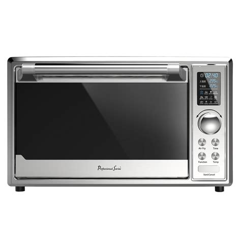 toaster fryer air oven stainless steel lt led display professional series ps