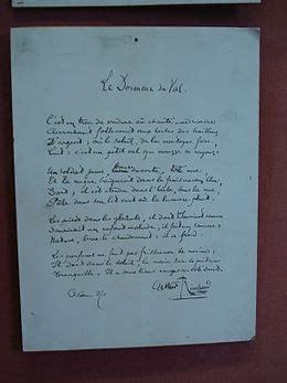 Le Dormeur Du Val Date by Le Dormeur Du Val Wikip 233 Dia