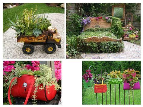 paisajismo pueblos  jardines ideas creativas de objetos