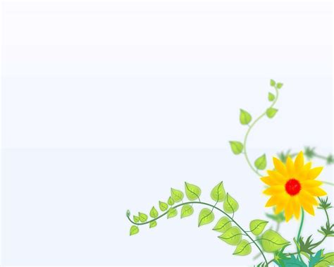 elegant flower  powerpoint backgrounds