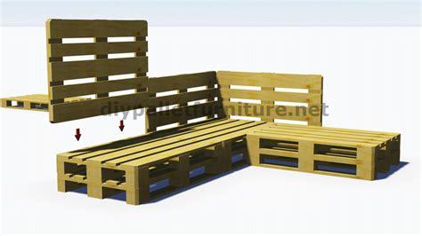 comment fabriquer un canapé en bois de palette et plans 3d de la façon de faire un canapé