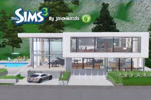modern house floor plans the sims 3 house designs modern unity
