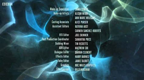[hd!] Official Doctor Who Series 8 Closing Credits + New