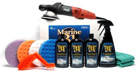 Best Boat Oxidation Cleaner by Flex Xc3401 Marine 31 Boat Oxidation Removal Kit