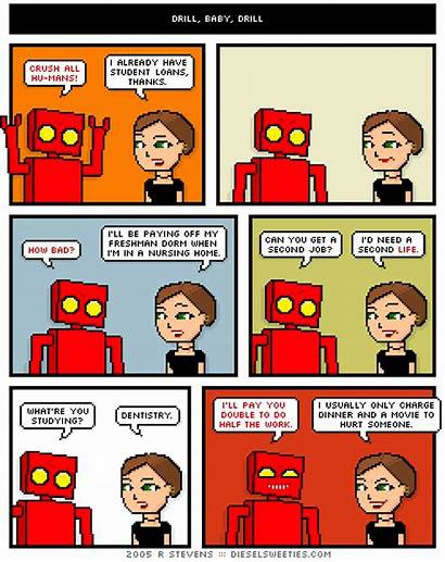 Robot Programming Comic Projects Storyboard Animation