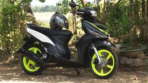 Modif Mio Hijau Pelek 19 by Cara Ngecat Velg Motor Sendiri Classycloud Co