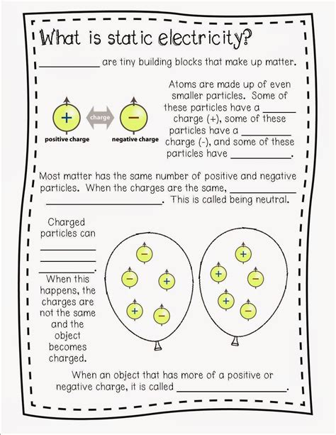 Once Upon A Creative Classroom Electricity And Magnets Unit We Learned About Static Wiring
