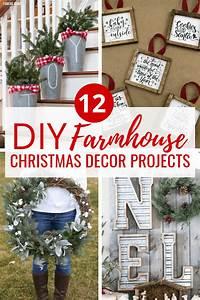 12, Diy, Farmhouse, Christmas, Decor, Tutorials