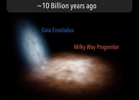 The Early Days Milky Way Revealed Spaceref