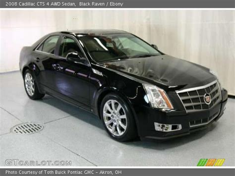 2008 Cadillac Cts Awd by Black 2008 Cadillac Cts 4 Awd Sedan