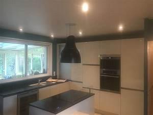 Spot Plafond Cuisine : suspension plafond cuisine suspension moderne chambre triloc ~ Melissatoandfro.com Idées de Décoration