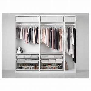 Ikea Pax Schrank : pax wardrobe white 250 x 58 x 236 cm ikea ~ Orissabook.com Haus und Dekorationen
