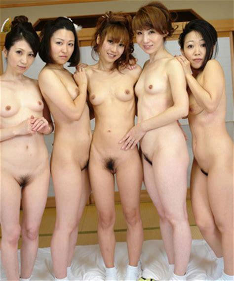 Hot Japanese Av Girls In Group Fuck Orgy Pin