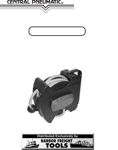 Central Pneumatic Air Compressor 95211 User Manual