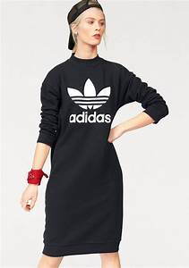 Adidas Trefoil Design Adidas Originals Sweatkleid Trefoil Crew Dress Otto