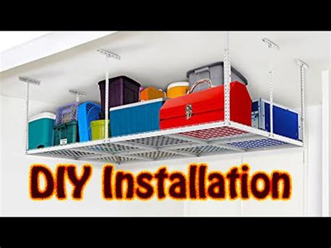 garage ceiling storage racks by newage products doovi