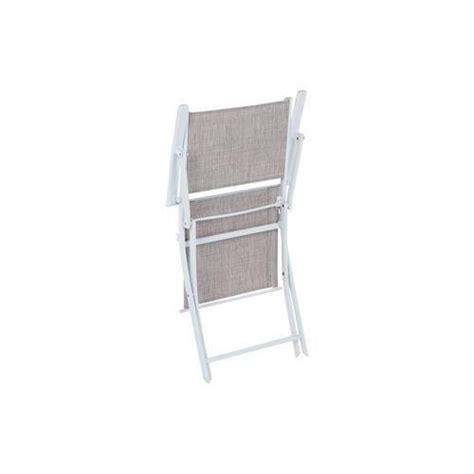 fauteuil d ext 233 rieur modula pliant taupe chin 233 achat
