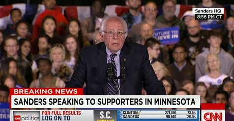 bernie sanders foregoes  concession speech