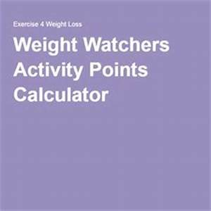 Weight Watchers Aktiv Points Berechnen : 1000 ideas about weight watchers activity points on pinterest weight watcher points points ~ Themetempest.com Abrechnung