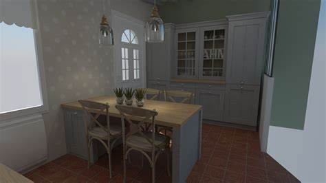 cuisines dieppe cuisine cottage anglais bois massif cuisiniste dieppe