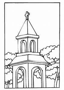 Ausmalbilder Kleine Kapelle Kirchen Malvorlagen