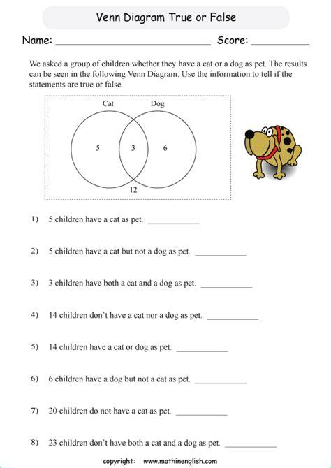 analyze venn diagrams    information