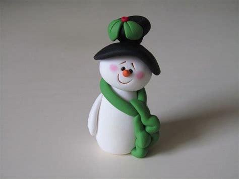 polymer clay christmas lamb ornament