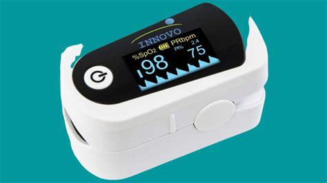 Innovo Deluxe Fingertip Pulse Oximeter with Plethysmograph