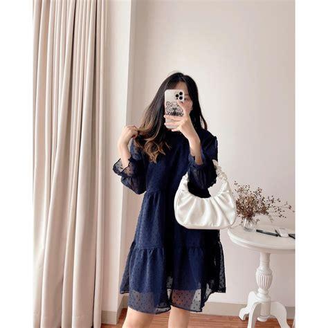 DRESS LONA LV 8314 | Shopee Indonesia
