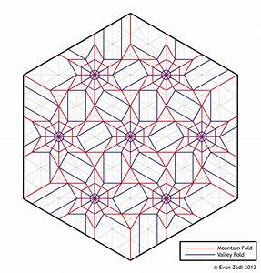 Crease Fold Tessellation Diagrams
