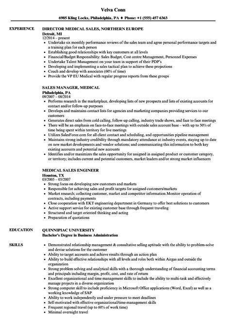 Sales Resume by Exles Of Resumes For Sales World Of Reference
