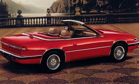Tc By Maserati by 1989 1991 Chrysler Tc By Maserati A Lebaron By Any Other