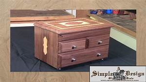 Making an Inlay Jewelry Box Part 1 - YouTube