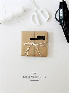 four diy gift wrap ideas almost makes perfect With diy label maker