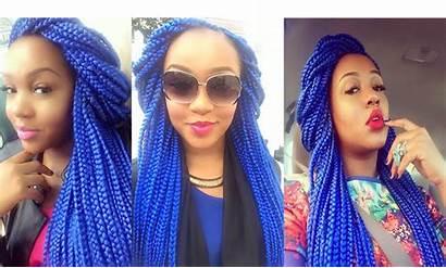 Braids Box Colour Hair Colourful Royalty Natural
