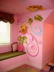 117 best images about hand painted designs on walls on With best brand of paint for kitchen cabinets with cherry tree wall art