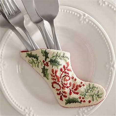 fabulous embroidery on handmade christmas decorations and