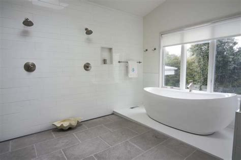His And Shower by His And Shower Heads Contemporary Bathroom
