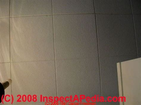 Do Acoustic Ceilings Contain Asbestos by Asbestos Identification Photo Guide To Building Materials